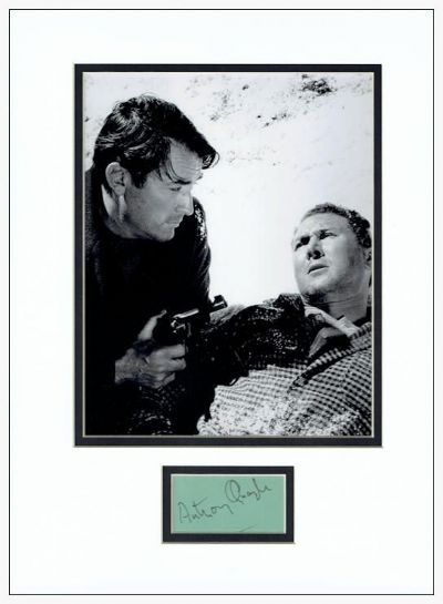 Anthony Quayle Autograph Signed - The Guns Of Navarone